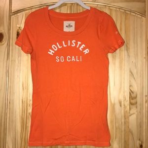 Hollister orange T-shirt